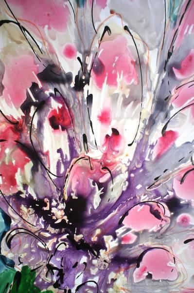 Wall Art - Painting - Divineblooms22210 by Baljit Chadha