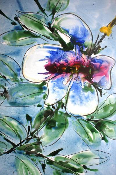 Wall Art - Painting - Divineblooms22216 by Baljit Chadha