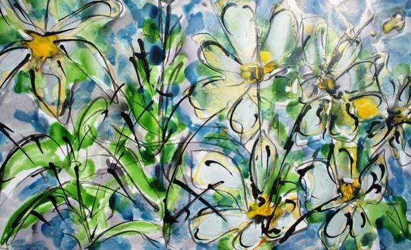 Wall Art - Painting - Divineblooms22219 by Baljit Chadha