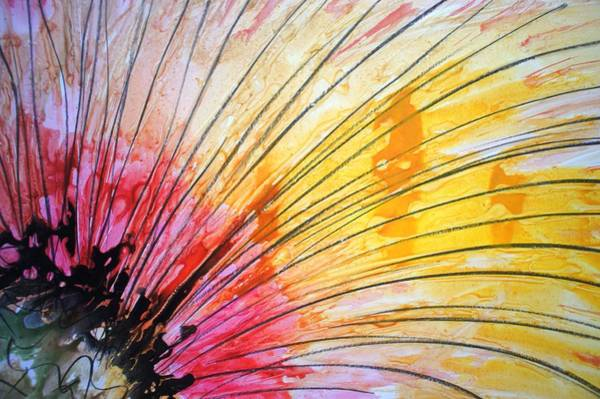 Wall Art - Painting - Divineblooms22221 by Baljit Chadha
