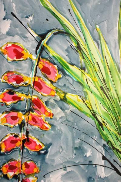 Wall Art - Painting - Divineflowers22173 by Baljit Chadha