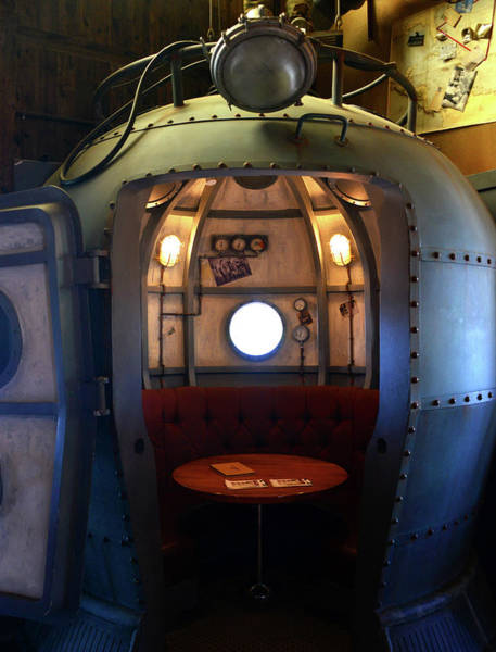 Diving Bell Photograph - Diving Bell Room At The Hangar Bar by David Lee Thompson
