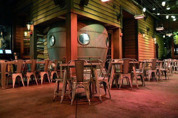Diving Bell Photograph - Diving Bell Room Hangar Bar by David Lee Thompson