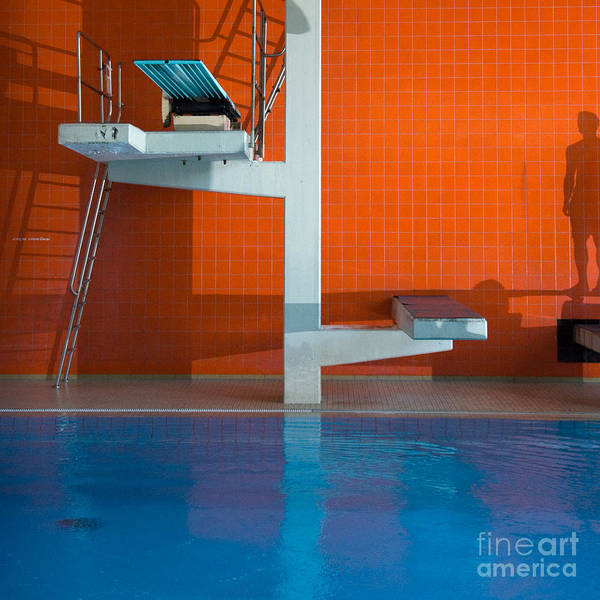 Wall Art - Photograph - Diving Platform by Markus Pfaff