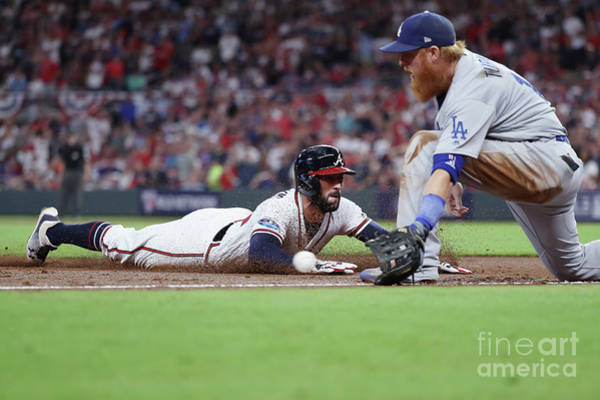 Wall Art - Photograph - Divisional Round - Los Angeles Dodgers by Rob Carr