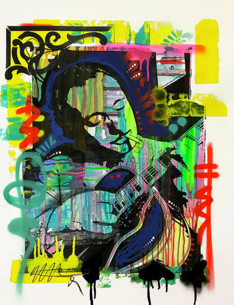 Wall Art - Painting - Django Reinhardt by Dean Russo Art