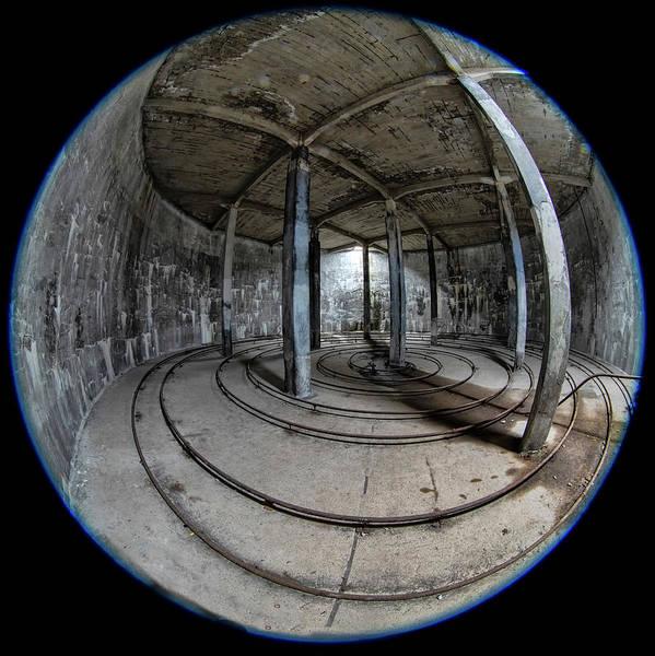 Photograph - Djupavik Cannery Herring Oil Tank by Tom Singleton