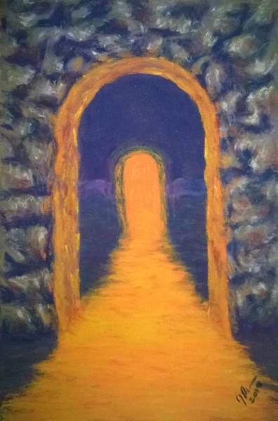 Wall Art - Pastel - Do I Really Want To Go There by Joann Renner