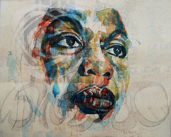 Right Painting - Do What You Gotta Do - Nina Simone  by Paul Lovering