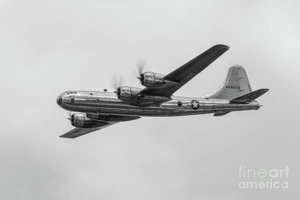 Superfortress Photograph - Doc In Black And White by Nathan Gingles