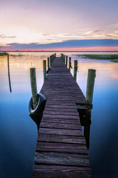 Wall Art - Photograph - Dock Into Dawn by Debra and Dave Vanderlaan