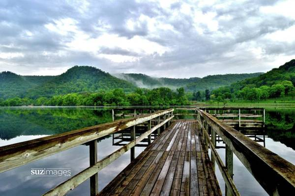 Photograph - Dock Reflection by Susie Loechler