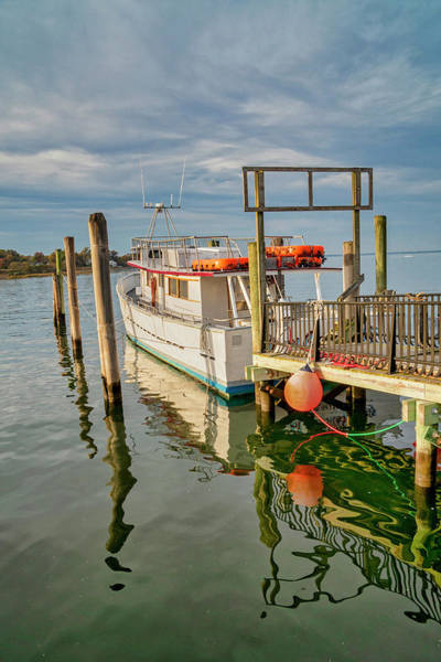Photograph - Docked At Keyport Harbor by Gary Slawsky