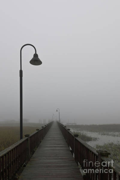 Photograph - Dockside Southern Fog by Dale Powell