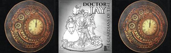Digital Art - Doctor Jay, And The Guardians Of Time by Reynold Jay