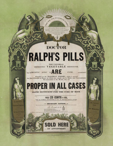 Photograph - Doctor Ralphs Pills by Bill Cannon