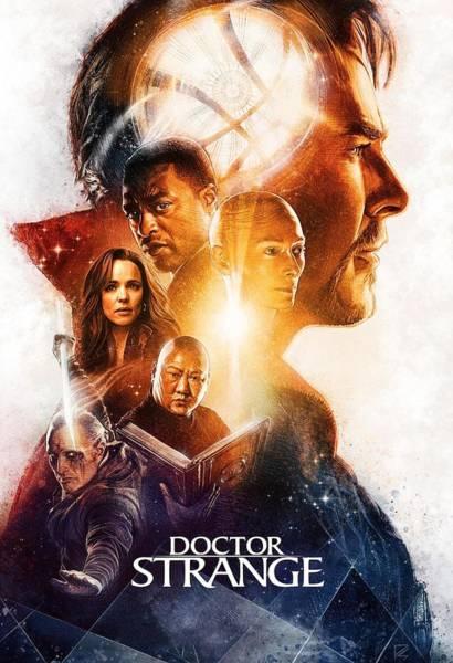 Strange Digital Art - Doctor Strange Movie by Geek N Rock