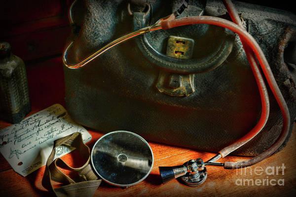 Wall Art - Photograph - Doctor - Vintage Medical Bag by Paul Ward