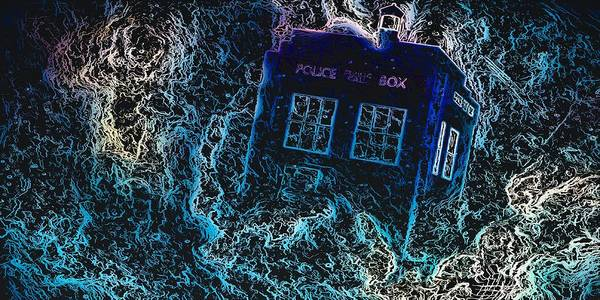 Mixed Media - Doctor Who Tardis 3 by Al Matra