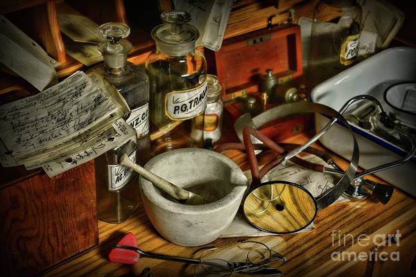 Wall Art - Photograph - Doctor Your Desk Is A Mess  by Paul Ward