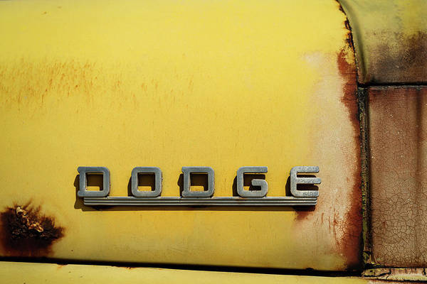 Wall Art - Photograph - Dodge by Joseph Smith