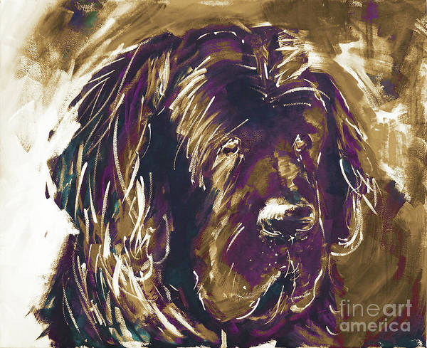 Riviere Painting - Dog Art  by Gull G