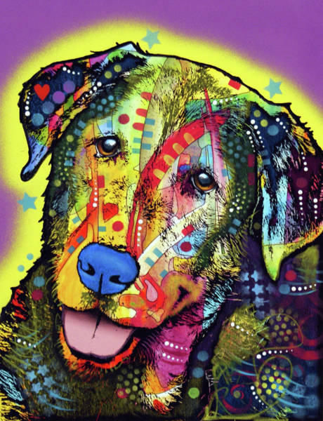 Wall Art - Painting - Dog by Dean Russo Art