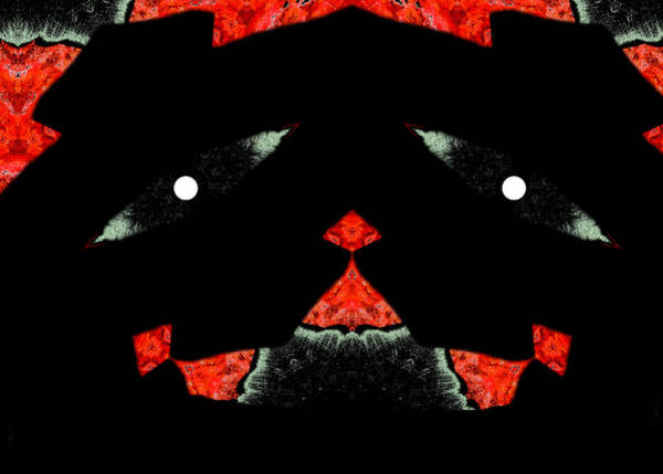Digital Art - Dog Face by Artist Dot