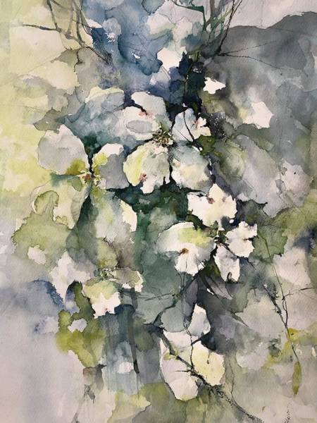 Painting - Dogwoods by Robin Miller-Bookhout