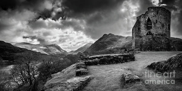 Wall Art - Photograph - Dolbadarn Castle Llanberis by Adrian Evans