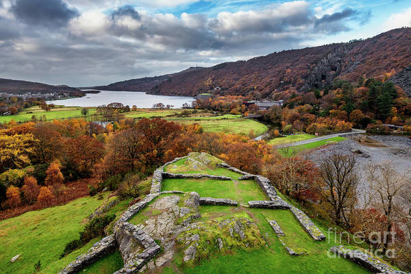 Wall Art - Photograph - Dolbadarn Castle View by Adrian Evans