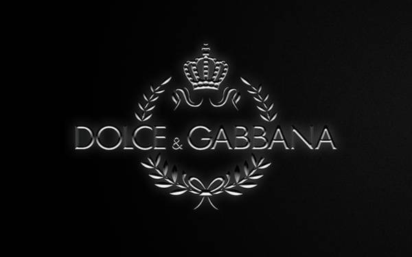 Dolce Wall Art - Photograph - Dolce And Gabbana Black Edition by Ricky Barnard