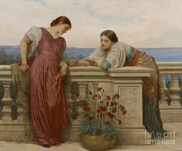 Wall Art - Painting - Dolce Far Niente, 1882 by Charles Edward Perugini