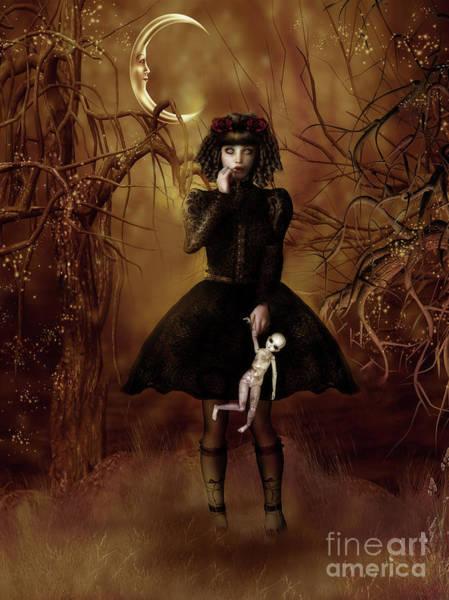 Broken Digital Art - Dolly Broke by Shanina Conway
