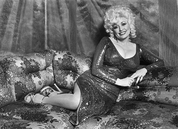 Photograph - Dolly Parton Portrait Session by George Rose