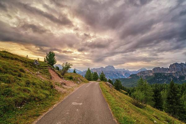 Photograph - Dolomite Sunrise by James Billings