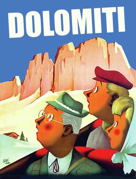 Wall Art - Digital Art - Dolomites by Long Shot