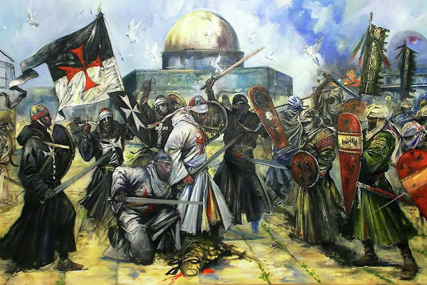 Wall Art - Photograph - Dome Of The Rock Battle by Munir Alawi