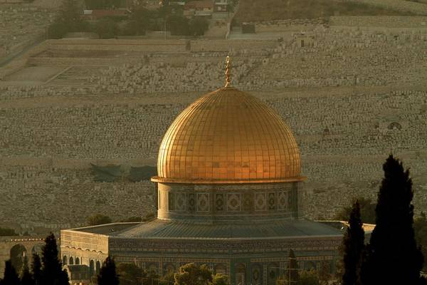 Dome Of The Rock Mosque In Jerusalem Art Print by Picturejohn