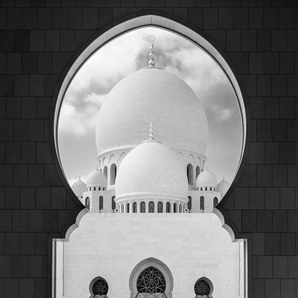 Wall Art - Photograph - Domes Of Sheikh Zayed Grand Mosque by Alexey Stiop