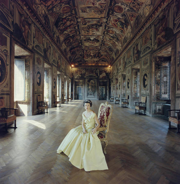 Lifestyles Photograph - Domitilla Ruspoli by Slim Aarons