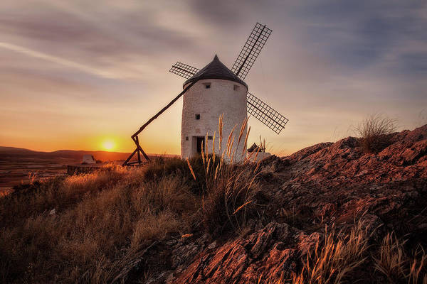 Don Photograph - Don Quixote Giant by Jorge Maia
