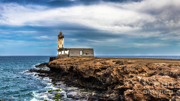 Photograph - Dona Maria Pia Lighthouse, Cape Verde by Lyl Dil Creations