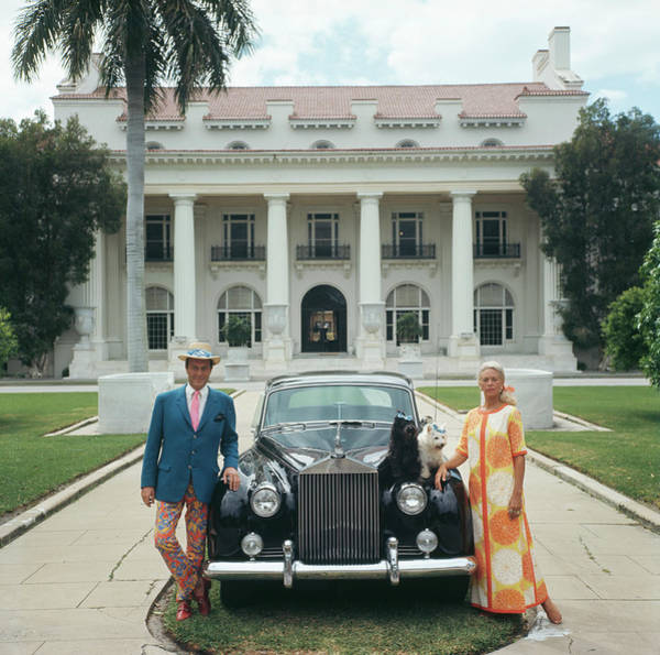 Mode Of Transport Photograph - Donald Leas by Slim Aarons