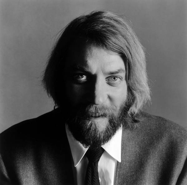 Canadian Culture Photograph - Donald Sutherland by Jack Robinson