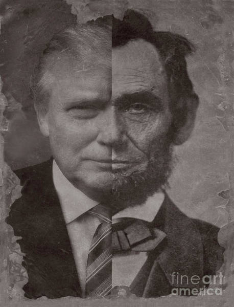 Photograph - Donald Trump Becomes Abe Lincoln. by Doc Braham