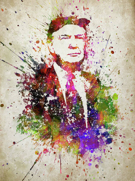 Trump Digital Art - Donald Trump In Color by Aged Pixel