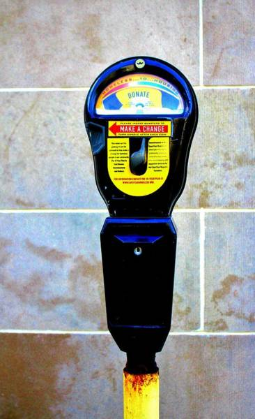 Photograph - Donation Meter by Cynthia Guinn