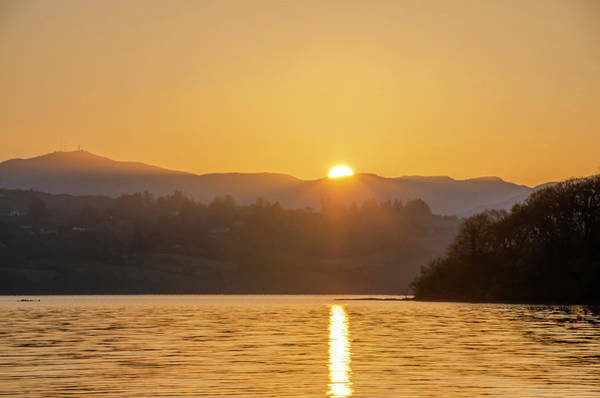 Photograph - Donegal Ireland At Sunrise - Lough Eske by Bill Cannon