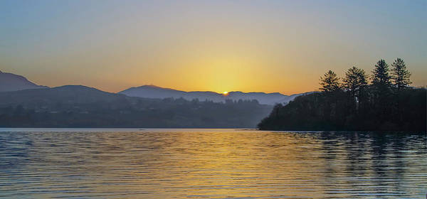 Wall Art - Photograph - Donegal Sunrise Over Lough Eske And The Bluestack Mountains by Bill Cannon